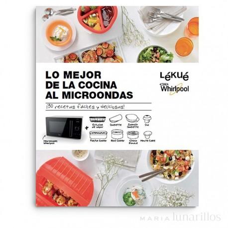 Libros Cocina   Libro De Recetas Lo Mejor De La Cocina Al Microondas Lekue